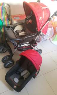 Baby 1st Stroller and Car Seat