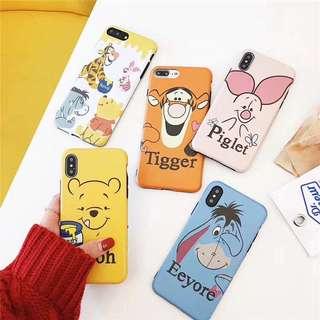 I phone 7/8 各款小熊維尼 Winnie the Pooh 手機殼 電話套 case
