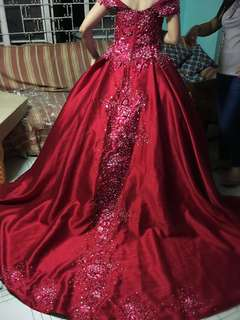 Red Ball Gown For Sale/Rent