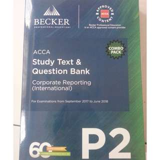 ACCA P2 Textbook and revision kit