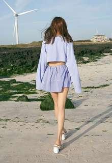 K-Style Ruffle Skirt