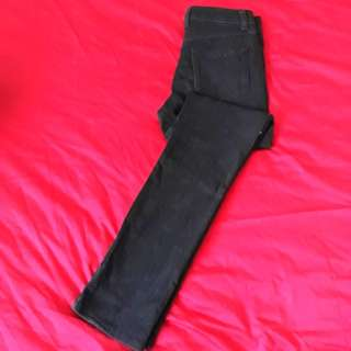 Uniqlo Black Skinny Fit Jeans