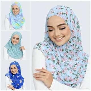 Alhumaira Lana Printed Shawl NEW Design
