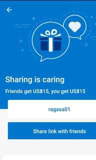 Earn $15 booking.com