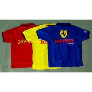 Ferrari t shirt kids