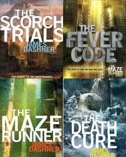Ebook Maze Runner Series by James Dashner