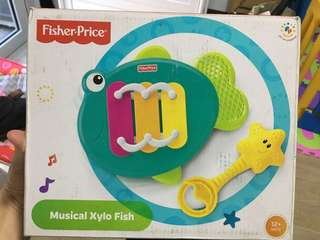 Fisher Price Musical Xylo Fish Xylophone