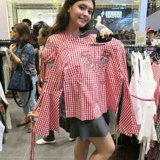 f21 Red Gingham (SM Surplus)