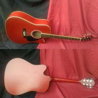 Gitar Jumbo Akustik Siprus
