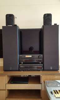 Amplifiers and speaker (whole set)
