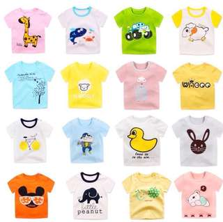 Children Short-Sleeved T-Shirt