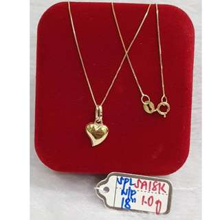 18K SPECIAL SAUDI GOLD NECKLACE (CHAIN & PENDANT) >>.>>.>>