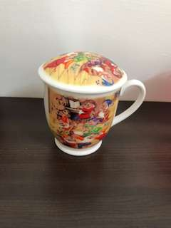 Snow White Mug with Lid