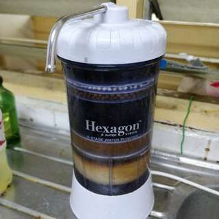 Hexagon Water filter