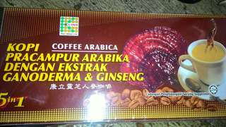Coffee arabica drink one box 20 packet