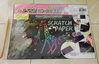 手工紙 刮刮色紙 繪圖用 美術