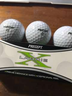Golf Balls (P250 for 3 pcs)