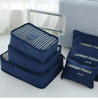 6in1 Travel Pouch Organizer