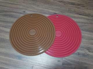 """Silicone Coasters 11"""" (28cm) diameter"""
