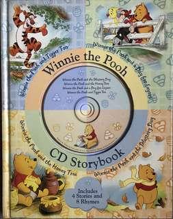 Winnie The Pooh CD Storybook