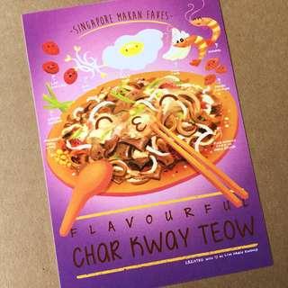 Char Kway Teow Postcard