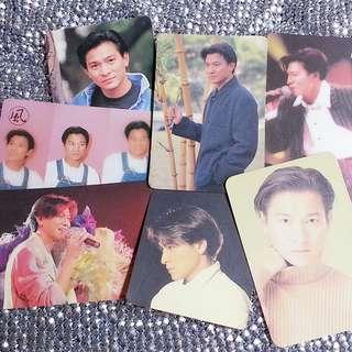 7張=HK$9 劉德華 Andy Lau 華仔 絕版 YesCard Yes咭 Yes卡 100分Card 風Card