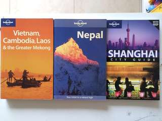 Lonely Planet (Total 3 Books)