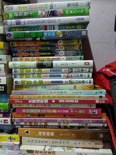 老少皆宜,好看的書,買5送1,買10送5,買20送10