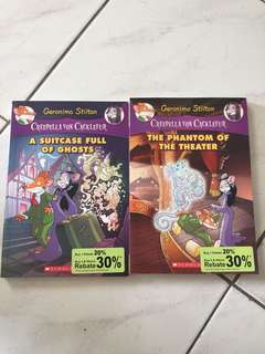 Geronimo Stilton~ 2 for RM24
