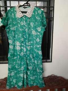 Sunday Dress - Green