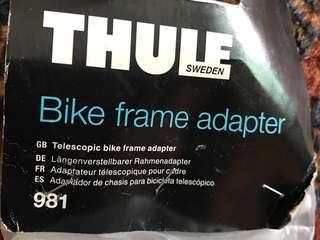 THULE bike frame adapter- 981