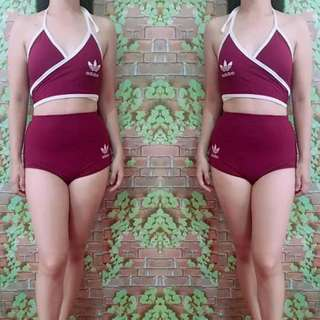Swimsuit freesize fit S to semi L