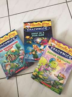 Geronimo Stilton~Spacemice 3 for RM36