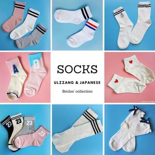 Ulzzang & Japanese Style Socks Collection