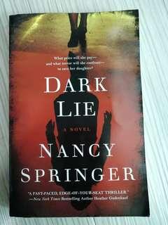Dark Lie by Nancy Springer
