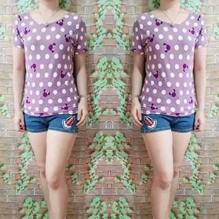 Scoopback top freesize up to L