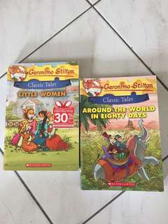 Geronimo Stilton~ Classic Tales 2 for RM35
