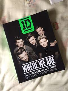Where We Are One Direction (Our Band Our Story)