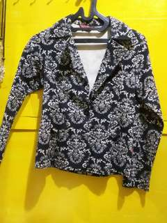 Flower Pattern Blazer