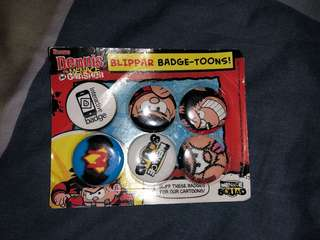 BLIPPAR Badge-Toons