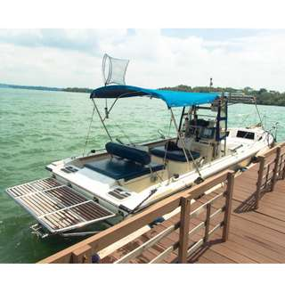 Fully Fitted 28ft Dynaglass Albacore Walkabout Fishing Boat