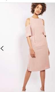 *^* TOPSHOP Dusty Pink Dress *^*