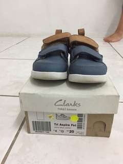 Kids Shoes Clarks (Like New Condition)