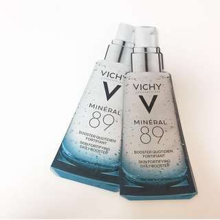 Vichy MINÉRAL 89 火山礦物能量精華 Booster Quotidien Fortifiant Skin Fortifying Daily Booster 1.5ml