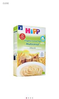 HIPP ORGANIC CEREAL PAP OAT 200G
