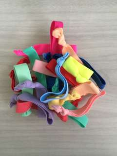 Assorted Elastic Hair Ties (Twistbands)