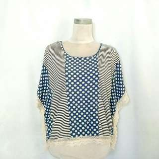 """Folded and Hung"" Poncho Top"