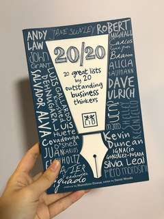 20/20 great lists by 20 outstanding business thinkers