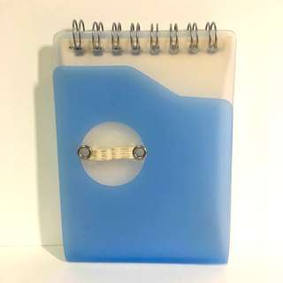 Handy Blue Notebook