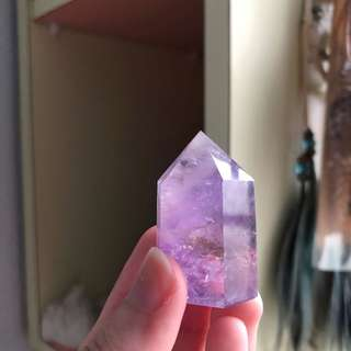 Lavender Amethyst Crystal Point #C